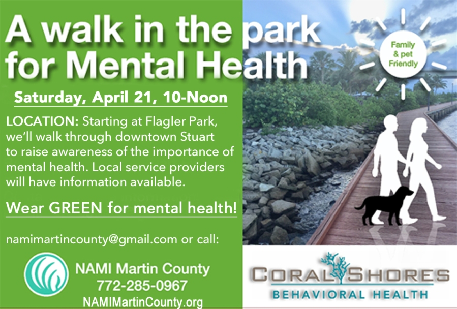 A Walk in the Park for Mental Health Awareness